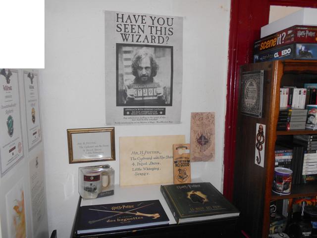 Je voulais partager avec vous quelques photos de ma collection... HARRY POTTER ! DSCN5619