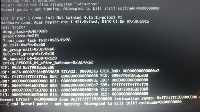 Ao1-431-c4xg installation woes