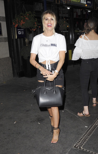 Hayley Hughes at Raglan Pub in the City for William Hill Featuring Hayley Hughes Where London United