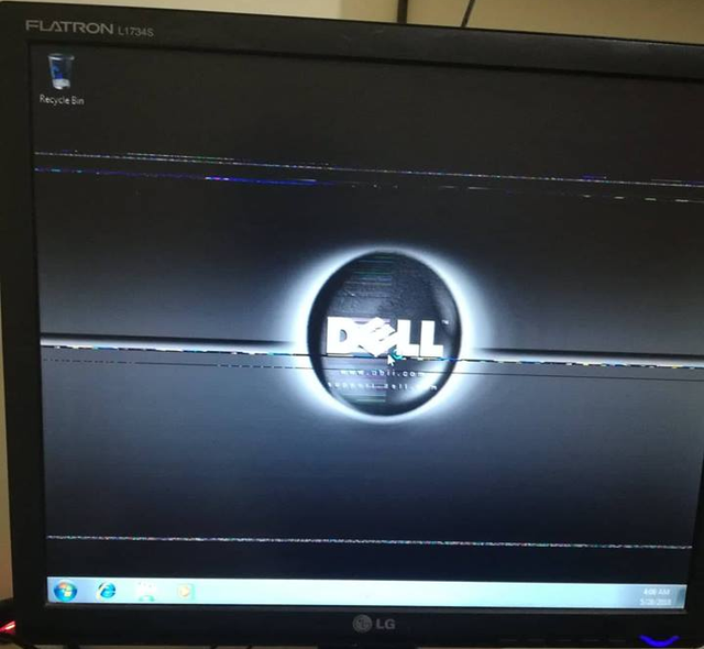 PC shows black screen after *starting windows* screen