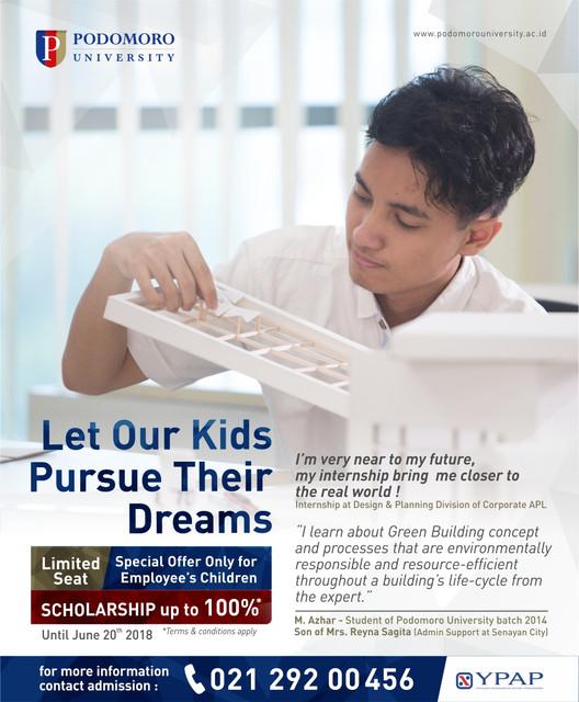 Poster Beasiswa Anak Karyawan 2018