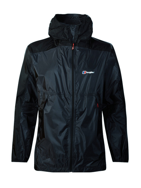 Berghaus Mens Fast Hike Lightweight Waterproof Breathable Shell Jacket Carbon