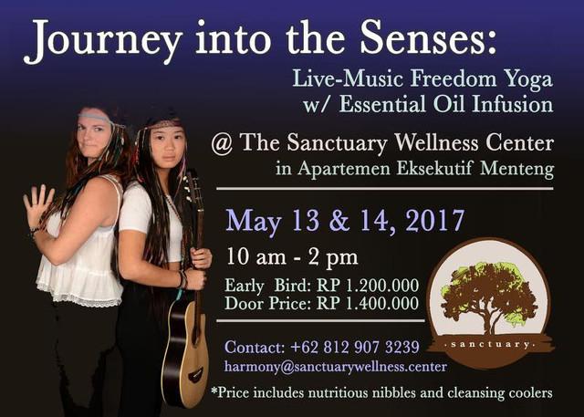 Journey into Senses Yoga