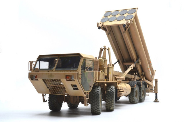 Terminal High Altitude Area Defence (THAAD) - 1/35 by Trumpeter DSC_3168_1024x678