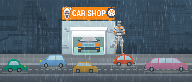 Be a go-to car care center this rainy season