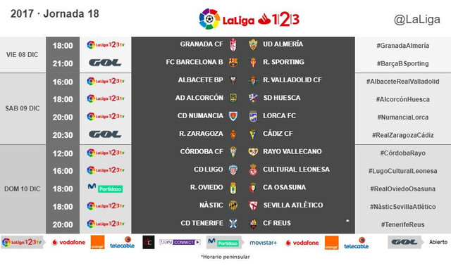 LALIGA 1|2|3  2017/2018 - HORARIOS-https://preview.ibb.co/ihR5FG/18.jpg