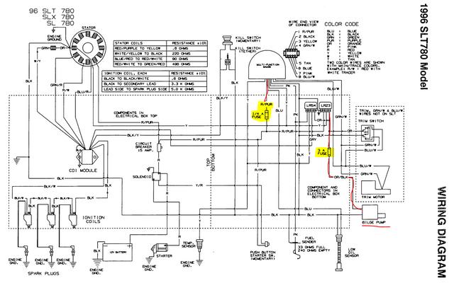 1996 Polaris Slt 780 Eletrical Questions