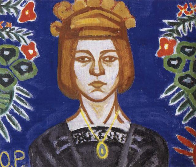 Selfportrait_Rozanova_1912_1