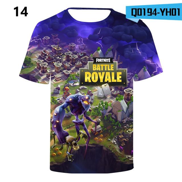 Battle-Royale-T-Shirts-Rainbow-Smash-Pony-Horse-Short-Sleeve-Tshirts-3-D-T-shirts-Boys-and-Q0194-YH0