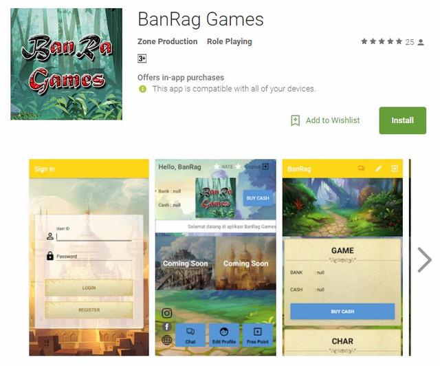Cara Registrasi Akun/ID di BdgRO - Panduan u/ Pemain Baru Google_Playstore_Banrag_Games