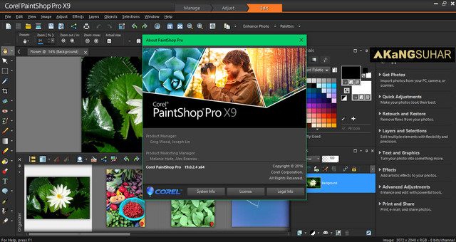 Corel PaintShop Pro X9 Full Patch
