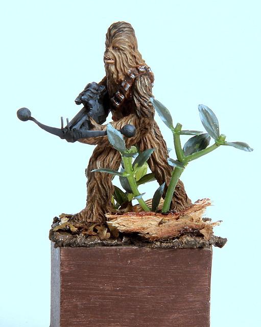 Grrrrooaaarr (Chewbacca 28mm) IMG-3344