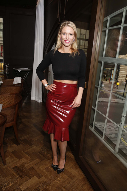 Centrepoint VIP Dinner hosted By Kiera Chaplin Elen Rivasat Cafe Royale London Pictured Kiera Chapli