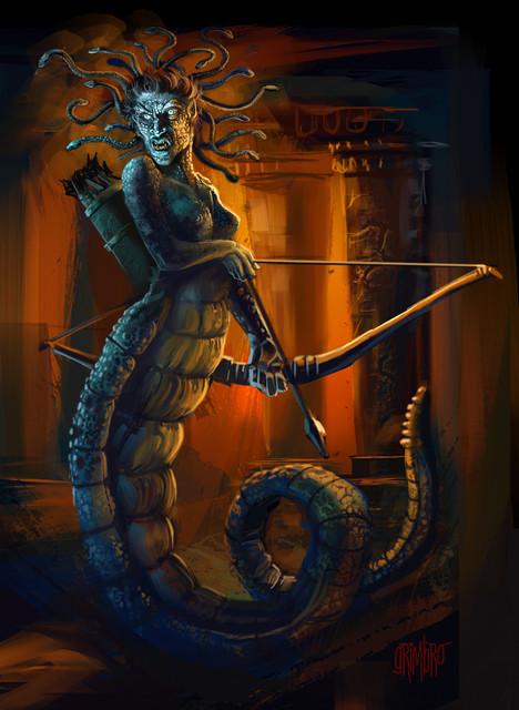 2 Lamia Medusa
