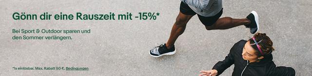 15 % Sport & Outdoor