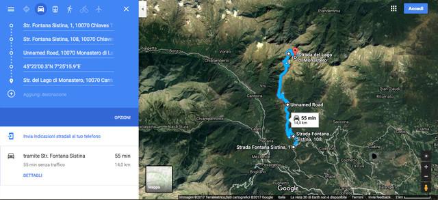 Piemonte (TO) - Road Book Monastero Lake Trail 4