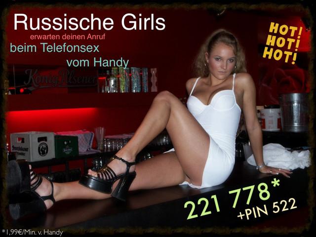 Handysex Russische Girls beim Telefonsex vom Handy