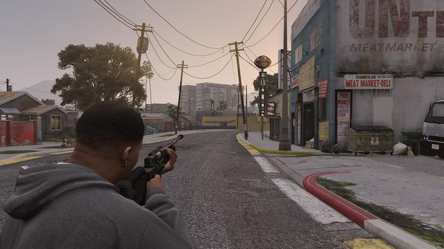No scope sniper 3rd