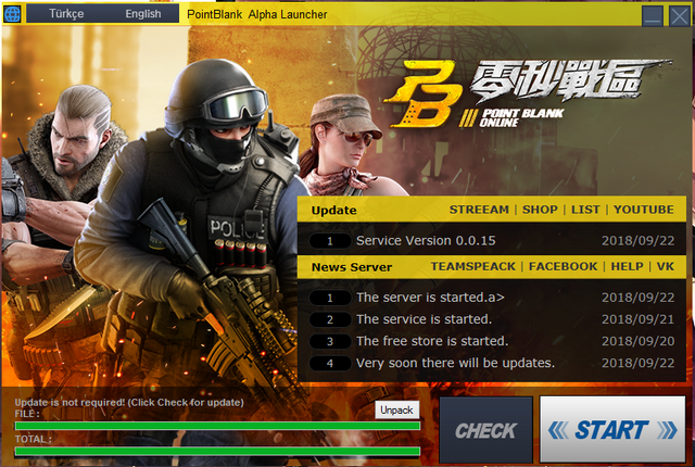 Build Version]PointBlank Launcher for all servers - RaGEZONE