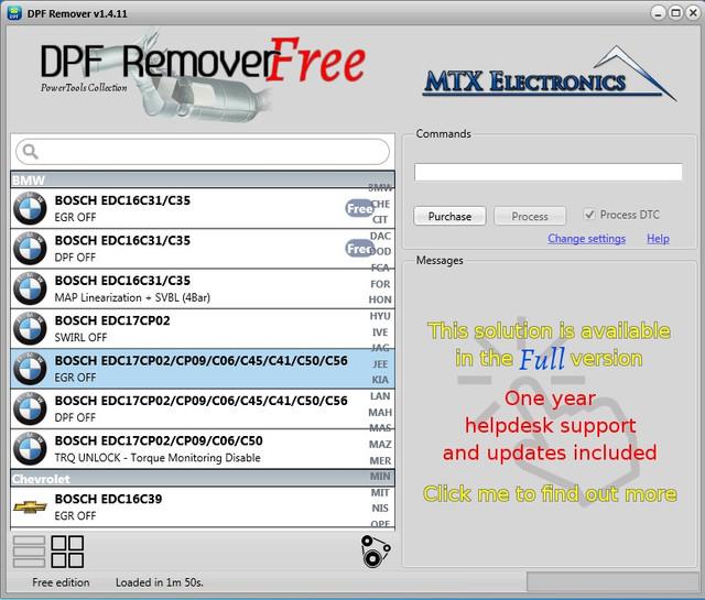 DPF Remover v1 4 11 - FREE