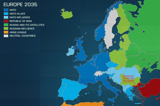 europe 2035 map