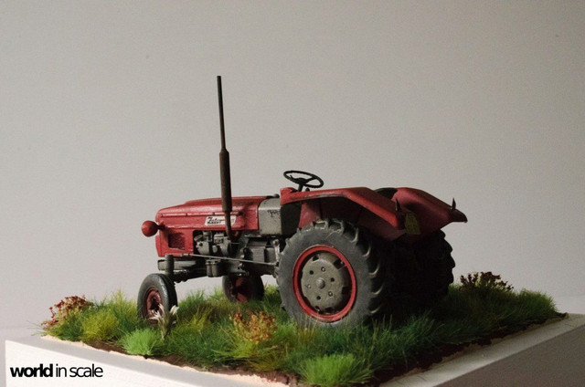 Zetor 3511 - 1:35 of SKP Models 24068684_946722012161981_4895228099669896323_o