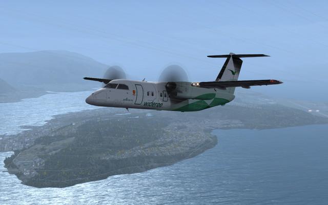 DH8 A Tromsoe dep