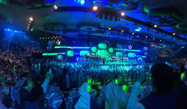 """تدشين """"صقر"""" أيقونة المنتخب السعودي خلال احتفالية الأخضر المونديالية Whats_App_Image_2017"""