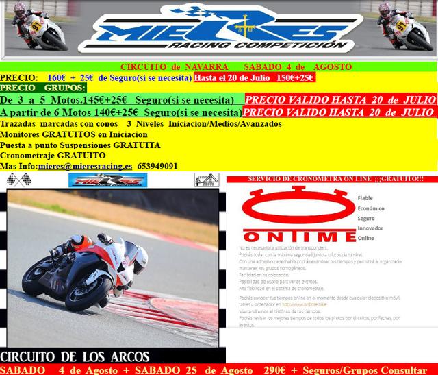 Circuito  de  Navarra   4  de  AGOSTO ARCOS_AGOSTO