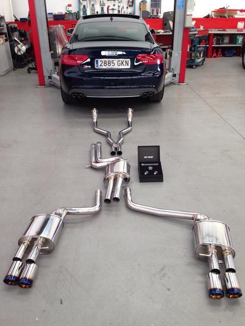 Audi A B Cat Back Exhaust