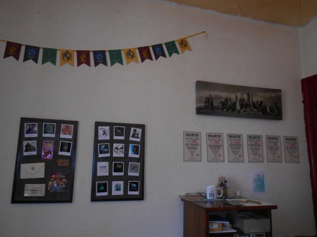 Je voulais partager avec vous quelques photos de ma collection... HARRY POTTER ! DSCN5627