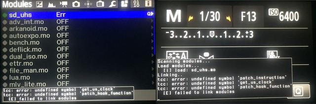 650 D105 SDproblem