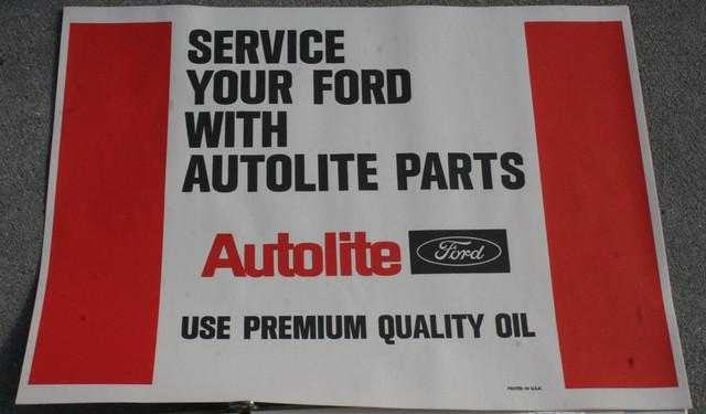 Autolite Service Paper Floor Mats