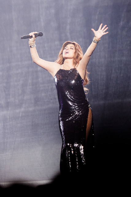 Shania Twain performs at the Staples Center during the Now Tour on Friday August 3 2018 Photo by Mat
