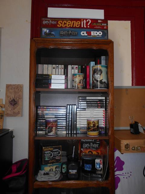 Je voulais partager avec vous quelques photos de ma collection... HARRY POTTER ! DSCN5618