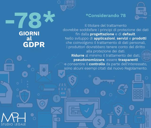 Proteggere i dati significa farlo già in fase di progettazione di app, servizi e prodotti che coinvolgono il trattamento dei dati personali.
