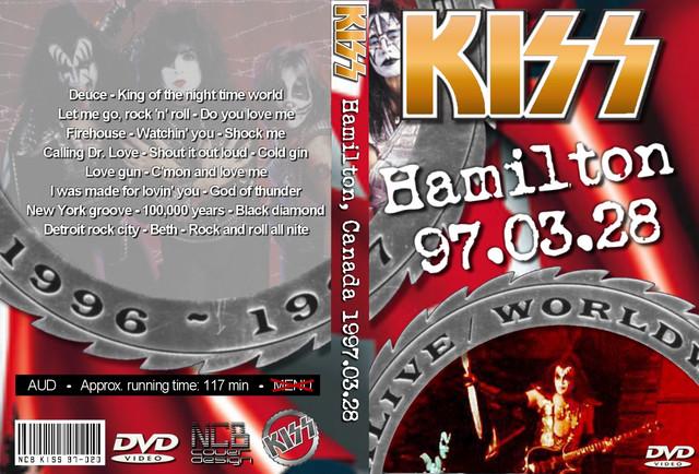 KISS - 1997-03-28 ~ Hamilton, Canada - Guitars101 - Guitar Forums