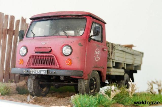 """UAZ-452D """"Golovastik"""" - 1:35 of AMG Models 26173573_964749337025915_7912478624628844925_o"""