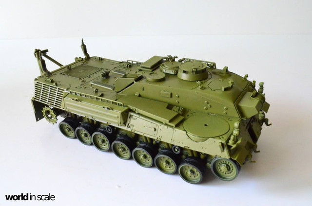Bergepanzer WISENT - 1:35 of Perfect Scale 29354680_1016201601880688_1613562479853768741_o