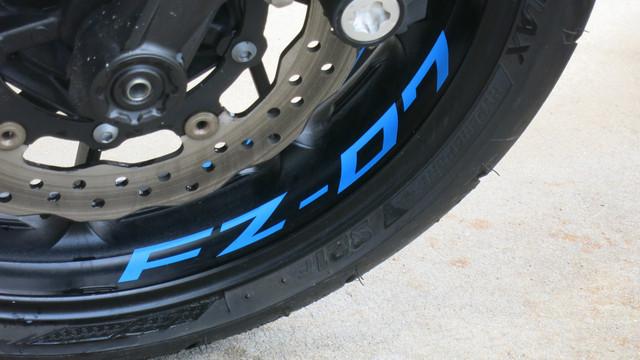 2 Tone Amethyst Motorcycle Rim Wheel Decal Accessory Sticker For Honda CBR 900RR