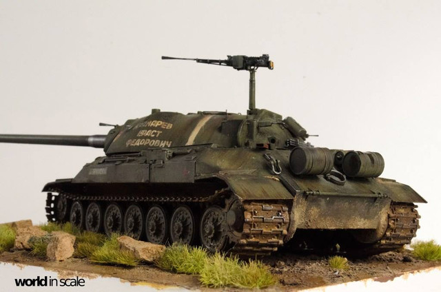 IS-7 (Object 260) Heavy Tank - 1:35 of Trumpeter 28161584_996436890523826_2515895833424058831_o