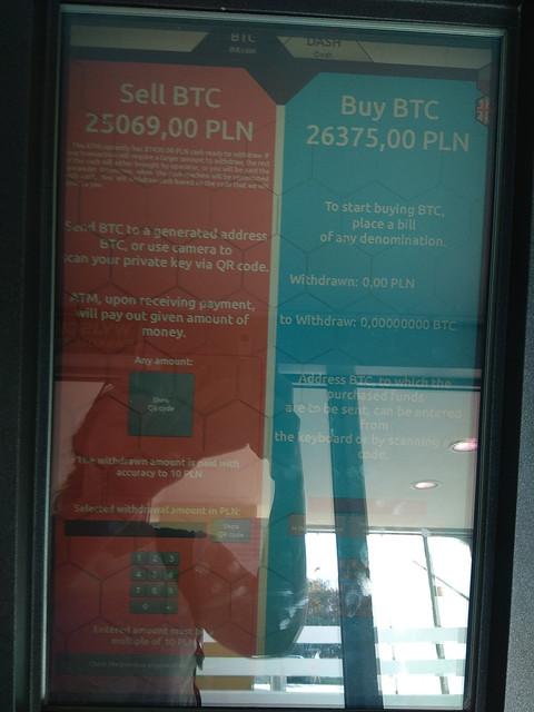 Bitomat Warszawa Towarowa 22 Sell Buy BTC