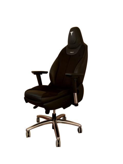 15 Tesla Model S Office Armchair Oem Seats Recaro Chair Race Lea Ebay