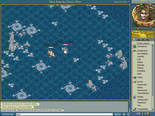 Puzzle Pirates Desktop 4