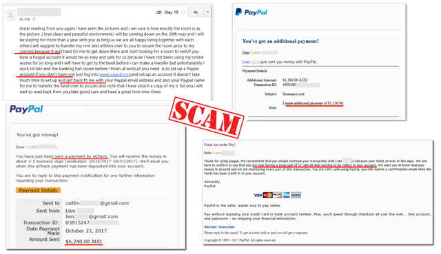 scam paypal
