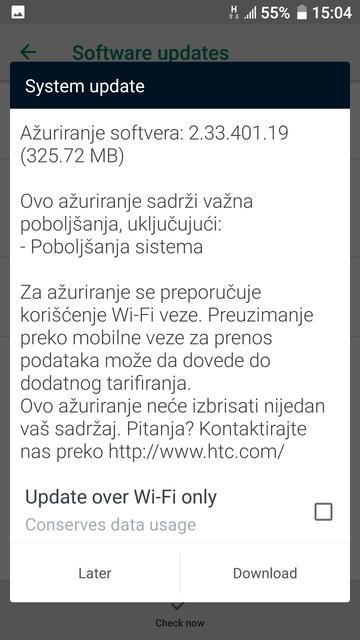 sistem apdejt info u11 18 9 26