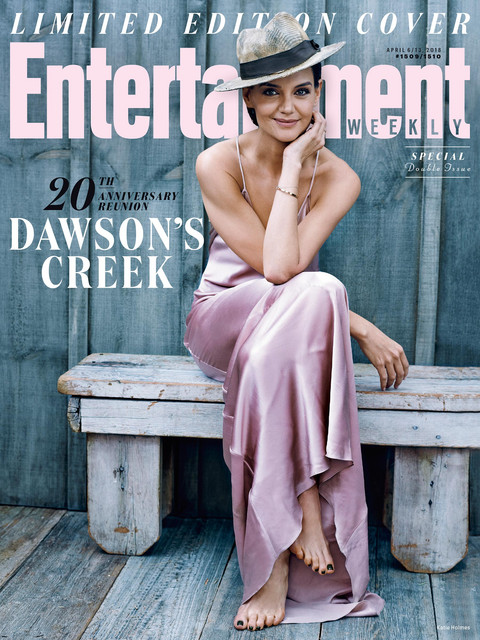 ew dawsonscreek april2018 cover katieholmes