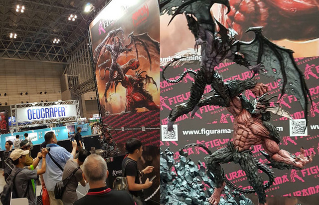 amon vs devilman figurama collectors wonder festival tokyo