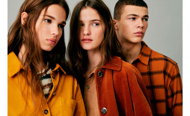 Matilda Gravalli was photographed in the PULL and BEAR advertising campaign
