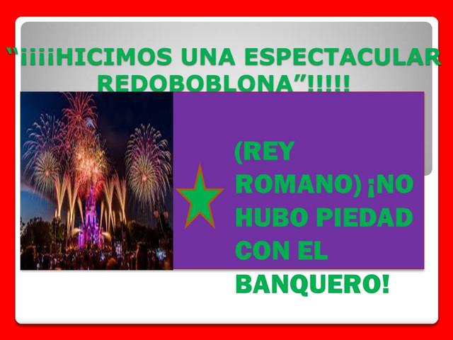 """¡¡***(((EXPLOTA AL BANQUERO """"EN LA RINCONADA)))*** """"CON ESTOS COHETES"""" ((CLICK))!! REY_ROMANO1"""